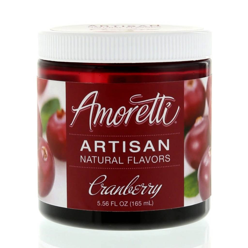 Amoretti Artisan Cranberry Flavor 4oz