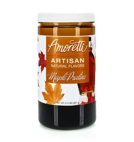 Amoretti Artisan Maple Praline Flavor 4oz