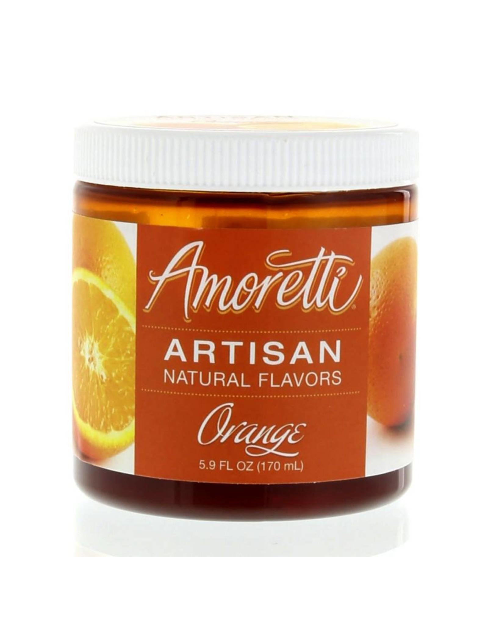 Amoretti Artisan Orange Flavor 4oz