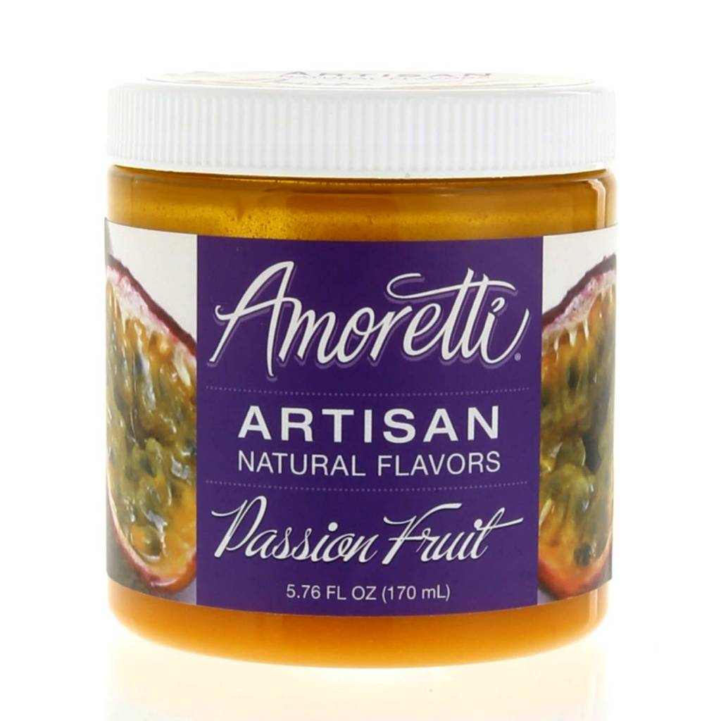 Amoretti Artisan Passion Fruit Flavor 4oz