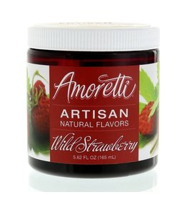 Amoretti Artisan Wild Strawberry Flavor 4oz