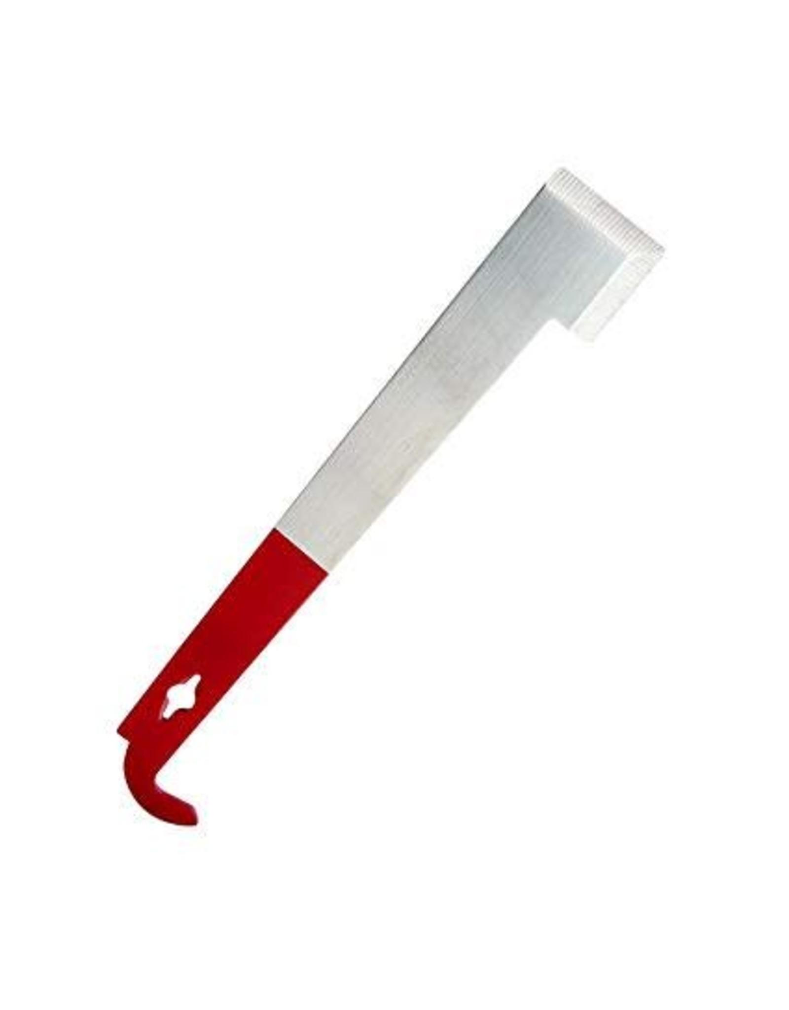 10 1/2'' Frame Lifter and Scraper J Hook Hive Tool