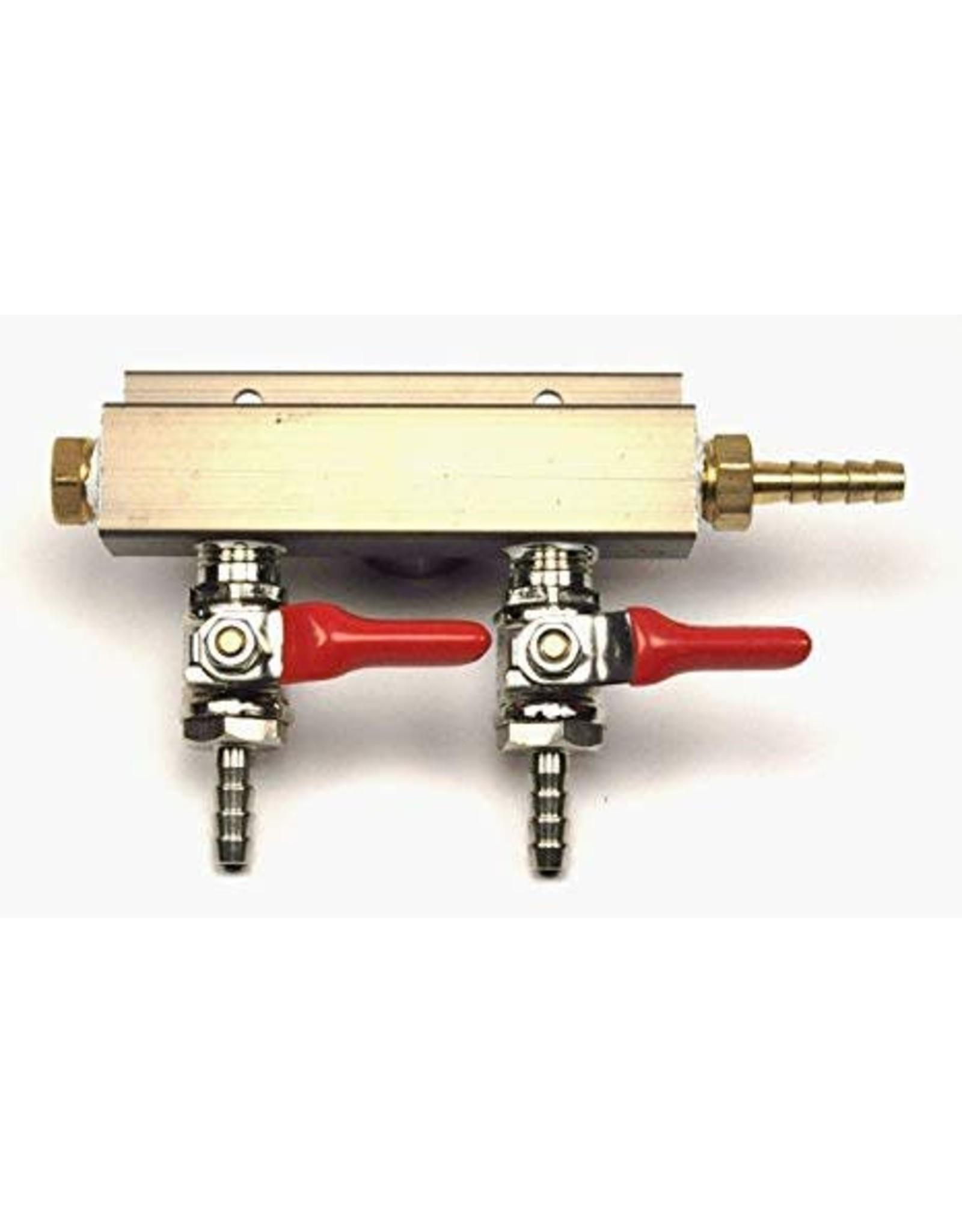 2-Way Air Manifold Distributor