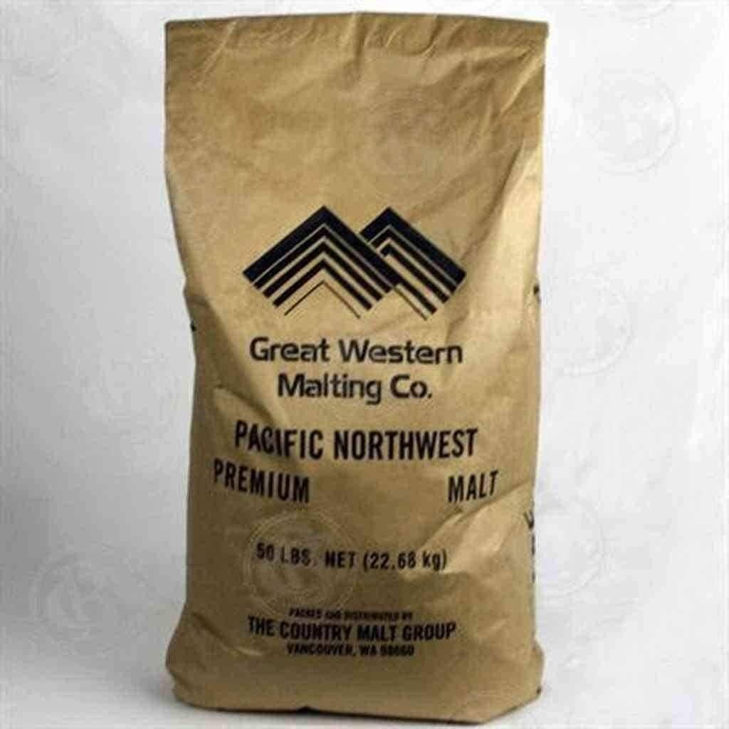 Great Western Malting 2Row Premium Malt - 50 LB