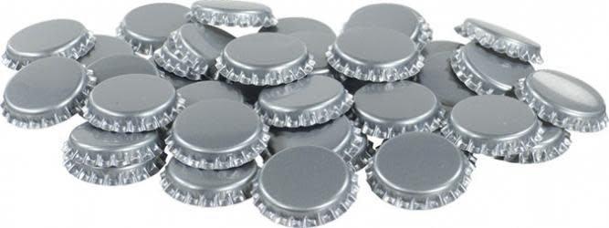 Silver Oxygen Barrier Caps Crown Caps