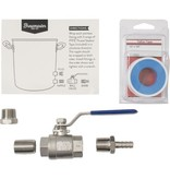 8.5 Gallon Brewmaster Stainless Steel Brew Kettle