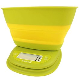 Pop Collapsible Bowl Digital Scale - Garden Yellow