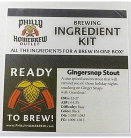 PHO PHO Gingersnap Stout (Extract Kit)