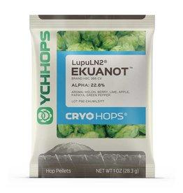 YCHHOPS Ekuanot Cryo (US) Pellet Hops LupuLN2 1oz