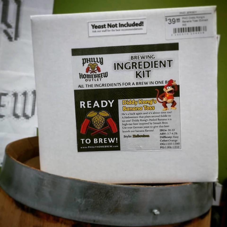 PHO PHO Diddy Kong's Banana Toss (Extract Kit)