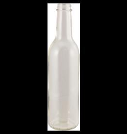 375 mL Clear Wine Bottles - Screw Top - Case of 12