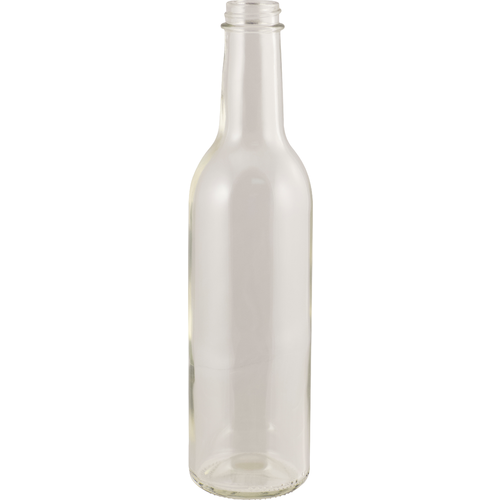375 mL Clear Wine Bottles - Screw Top - Case of 12