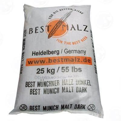 Bestmalz Dark Munich Malt -  55 lb/25 kg Bag