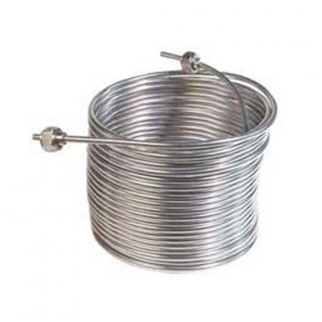 S/S Coil w/ fit, 50' (right)