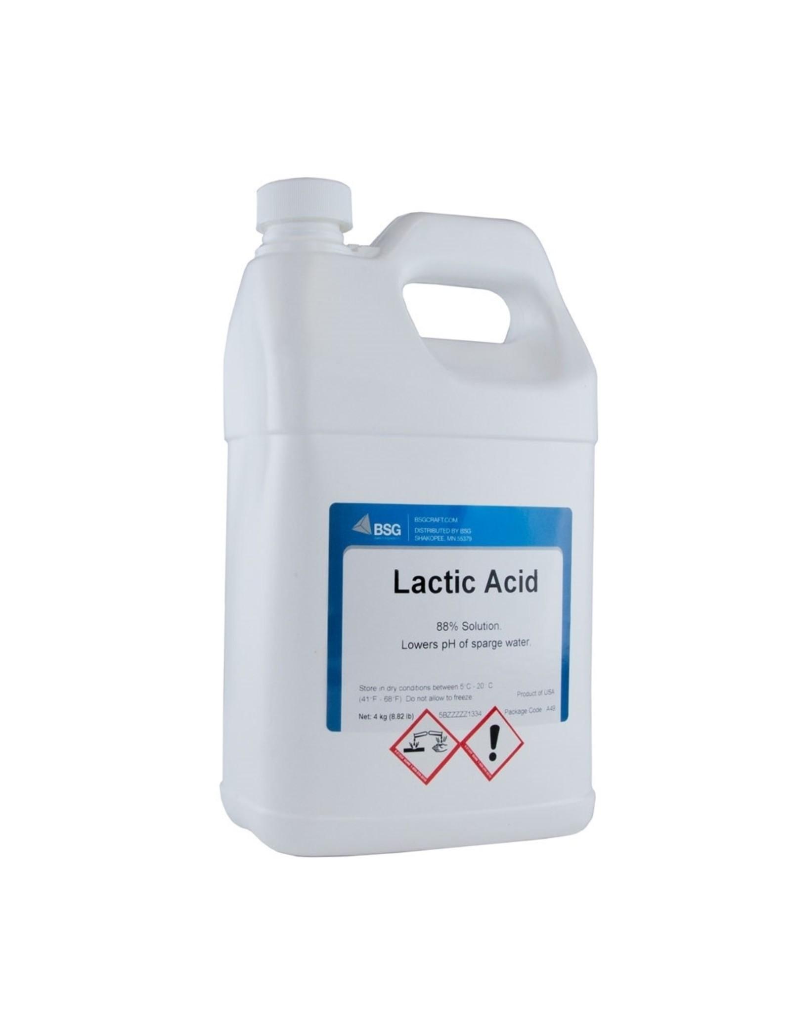 Lactic Acid 88% 4kg / 141oz