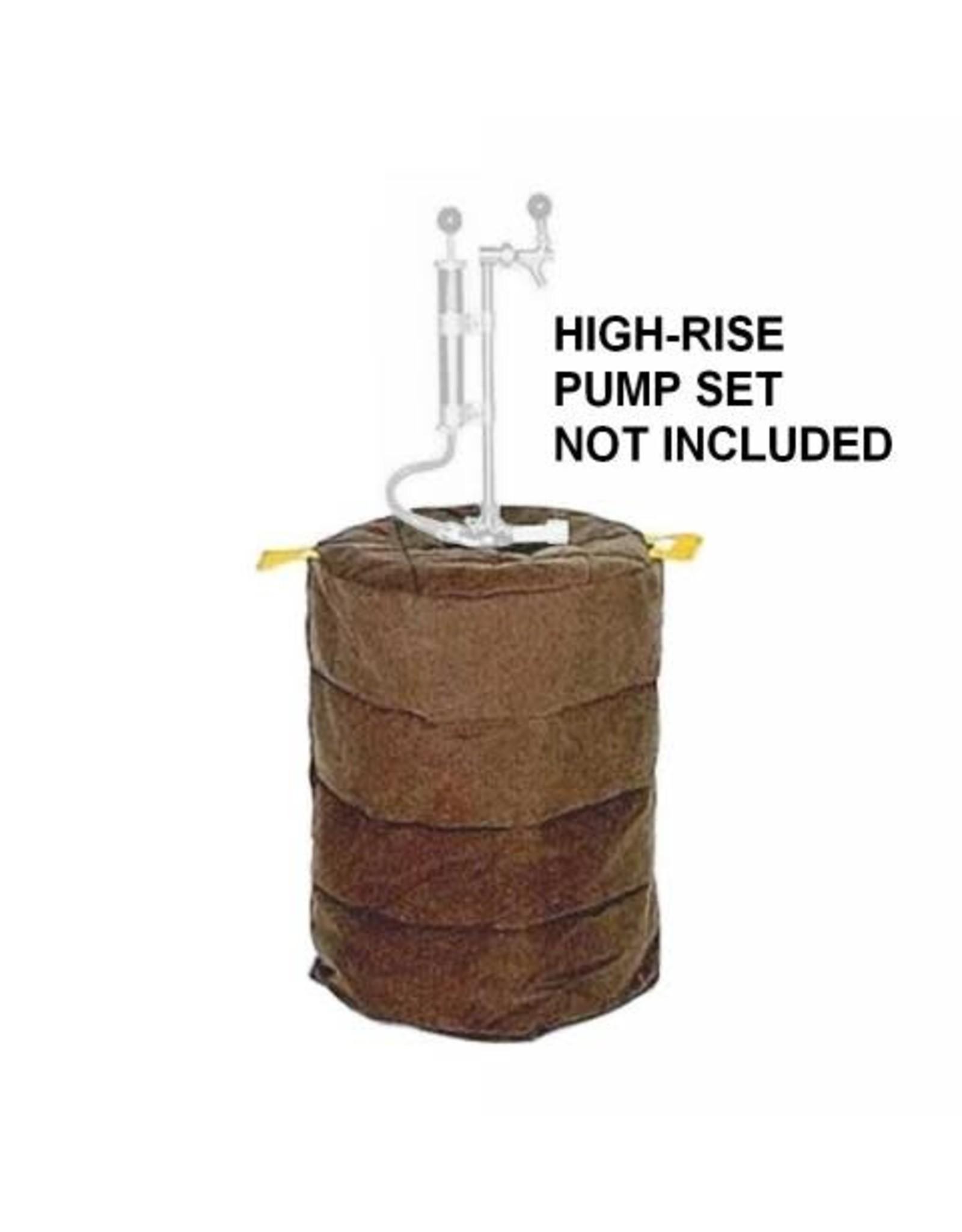 Insulated keg jacket