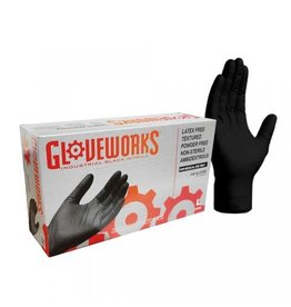 Black Nitrile Gloves (X-Large) 5MIL - 100 pack