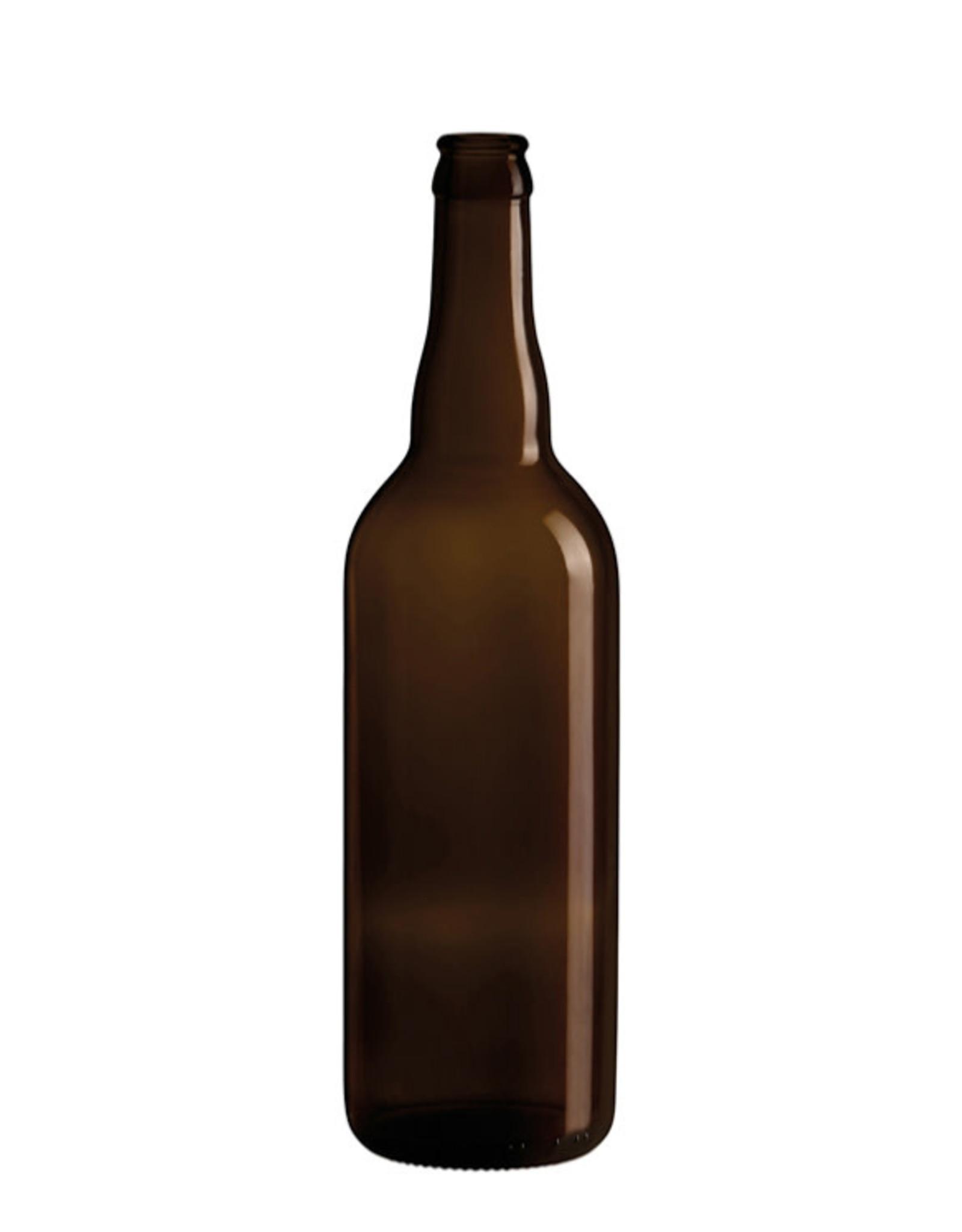 750ml Belgian Beer Crown Finish  Bottles