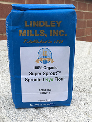 Super Sprout™ Rye Flour 2.5lbs - 100% Certified Organic