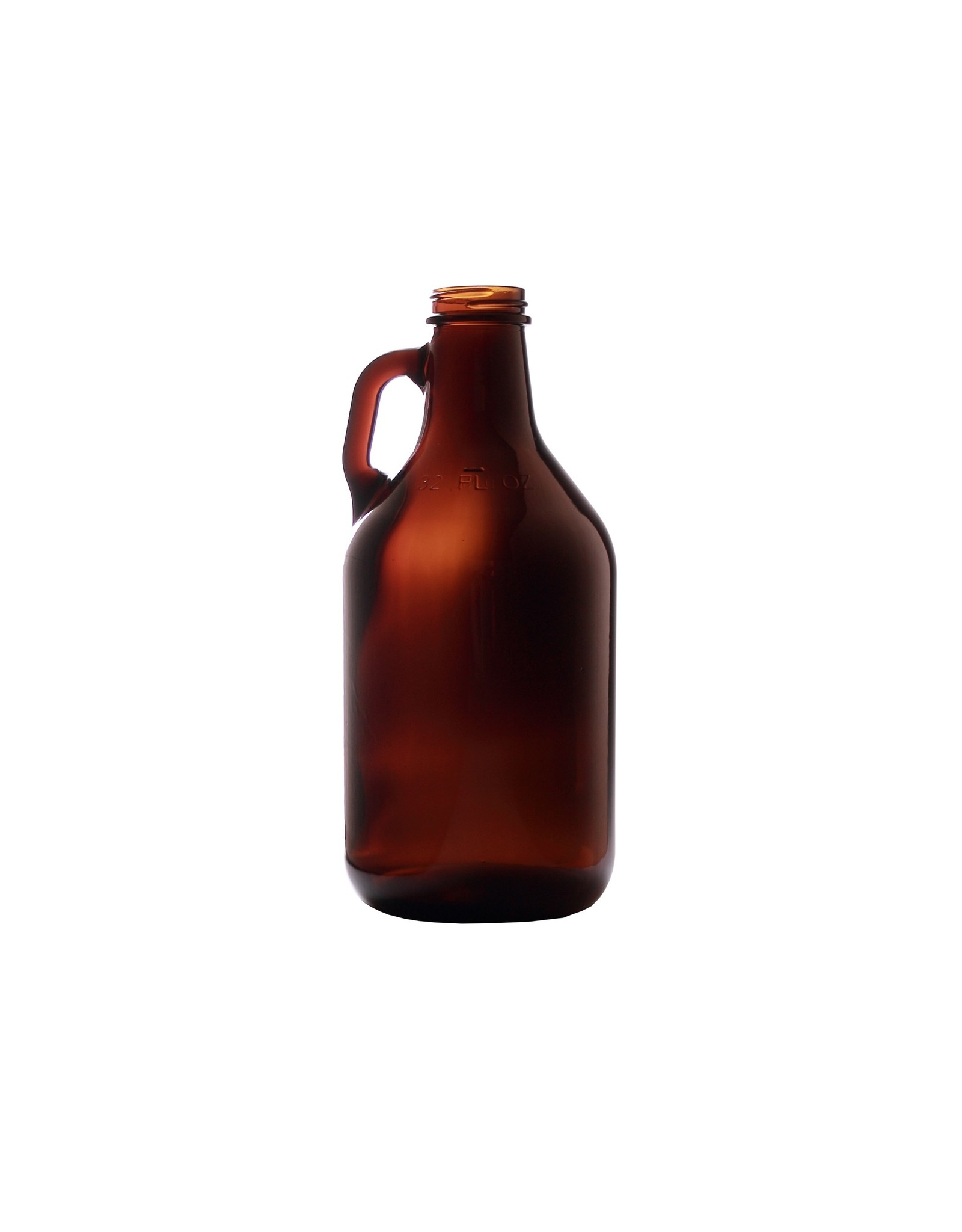 1/4 Gallon Amber Jug \ Growler (Case of 12) 1/4ajc