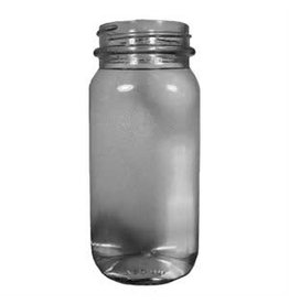 750 ml Flint Mayberry Jar Spirit Bottle Case/12