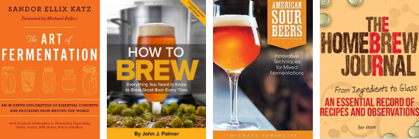 Four Essential Books for Your Home Brew Library