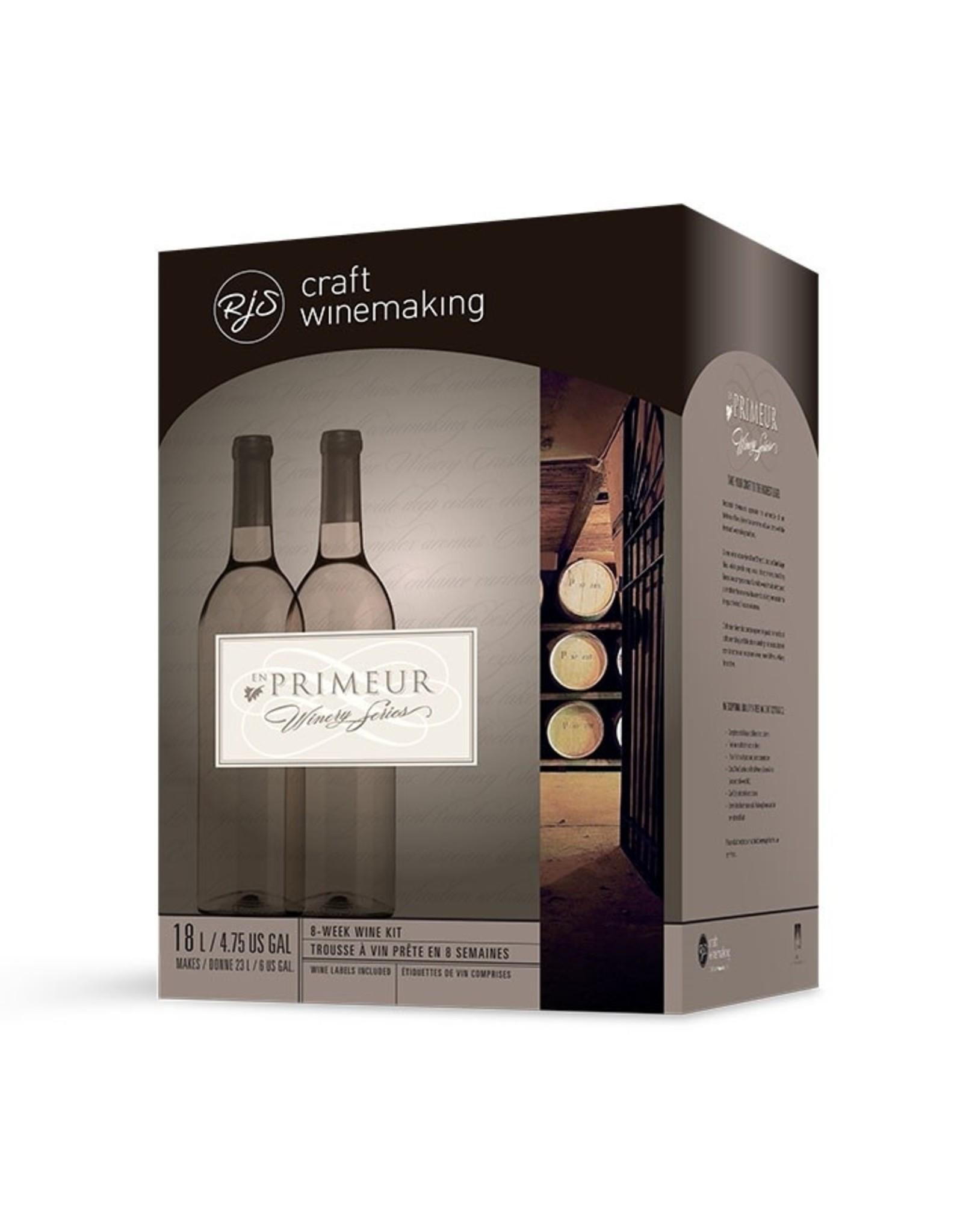 RJS En Primeur Winery Series Chilean Carménère Wine Kit