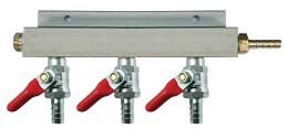 3-Way Air Manifold Distributor