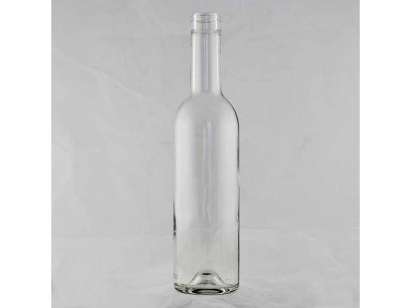 375 ML Clear Wine Bottle Bordeaux - CW-024