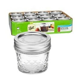 4 Oz Quilted Crystal Jar