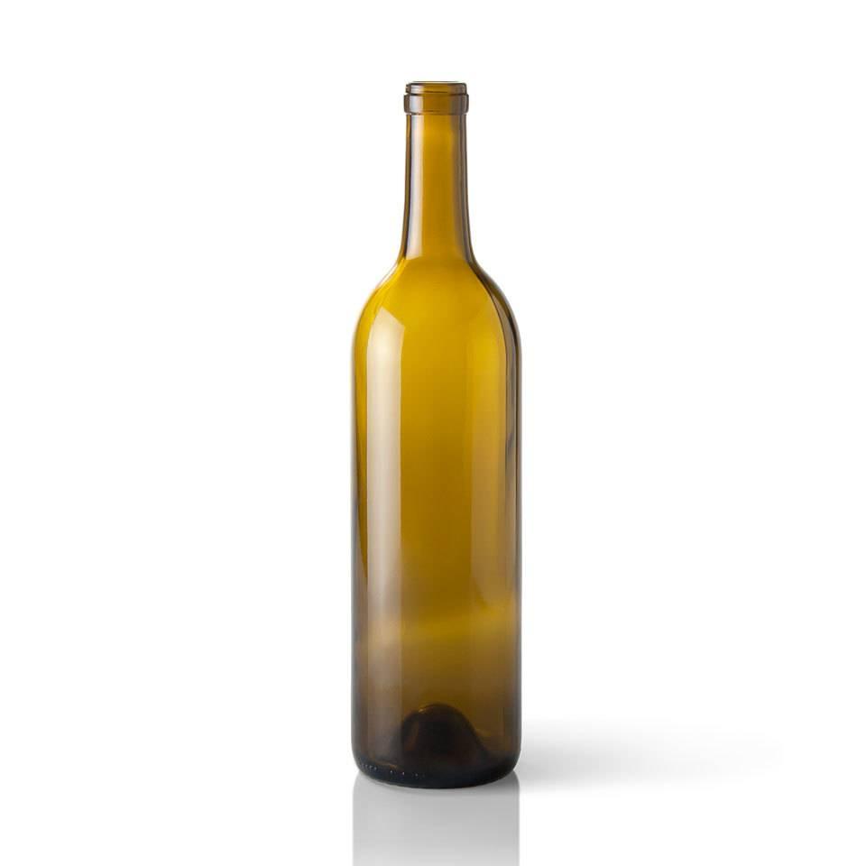750 ML Antique Green Wine Bottles (CWA-017L) 3266