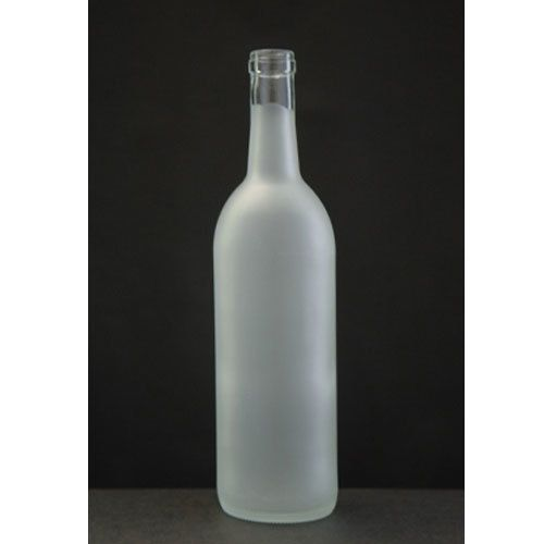 750 ML Frosted Wine Bottle