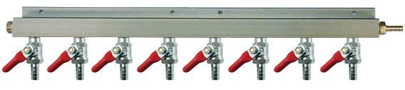 8-Way Air Manifold Distributor 03c03-430
