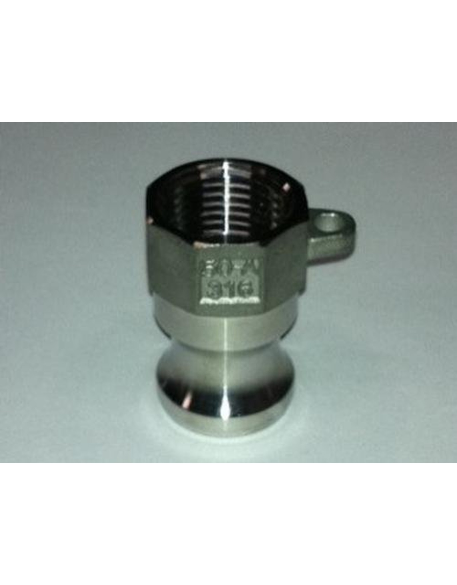 Proflow Dynamics 1/2 Type A Adapter'' Proflow Camlock Ss304