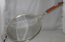 10 Strainer Stainless'' Ss