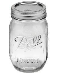 Ball 1 Pint (16 oz) Widemouth Jar Jars