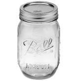 Ball Widemouth 16 Oz Pint Jars Elite