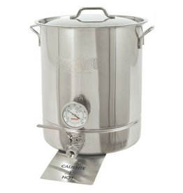 Bayou Classic Bayou Classic 10 Gallon Kettle with Spigot and Thermometer