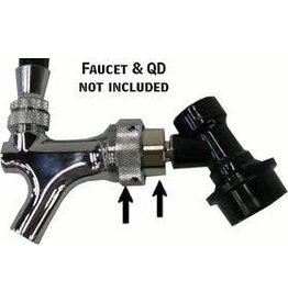 Beer Faucet Coupler To Disconnect Adapter Keg Tap Ball Lock