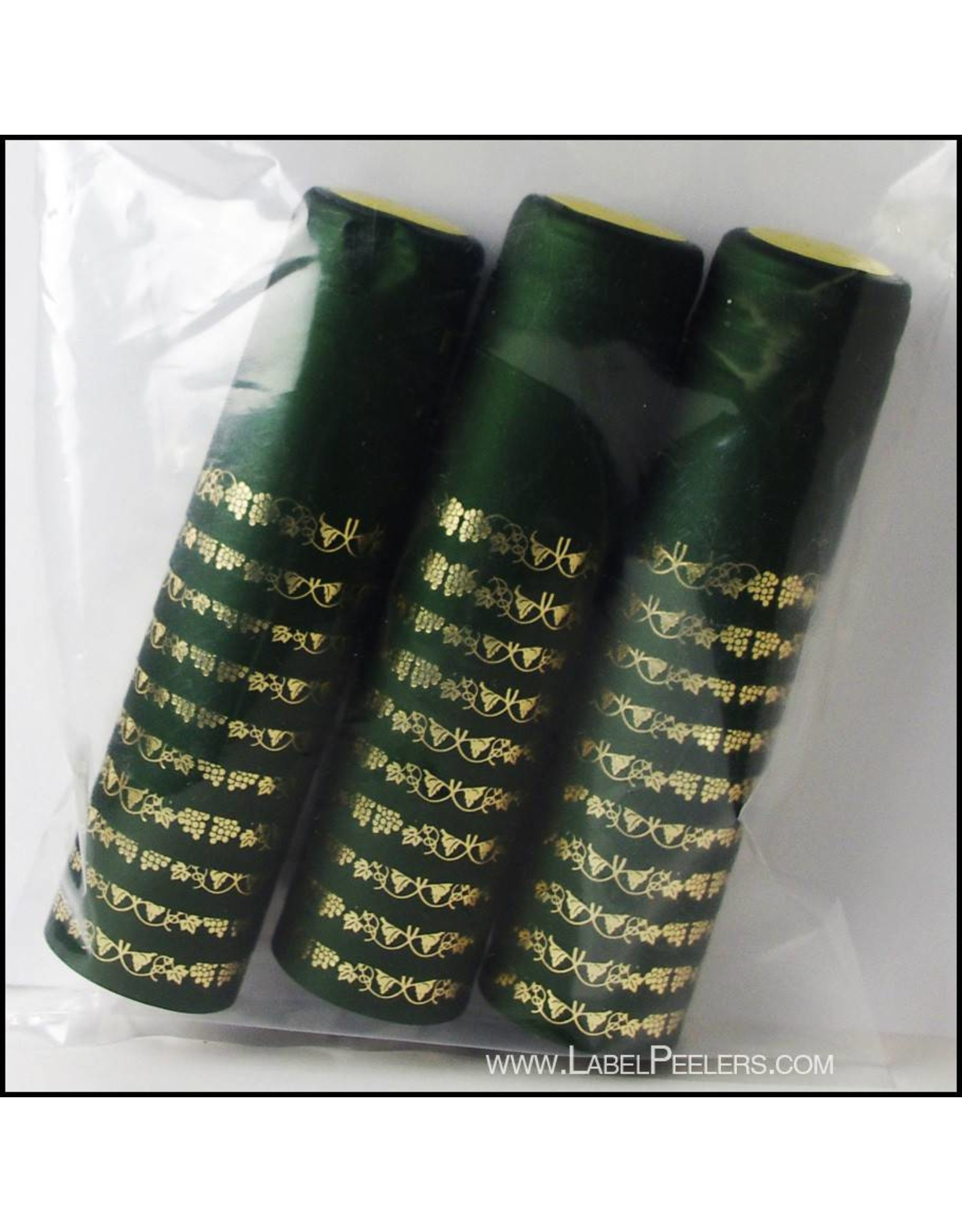 Green/Gold grape PVC Shrink 30