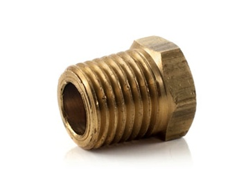 Hex Head Plug Lht 1/4 Mpt Left Hand Thread
