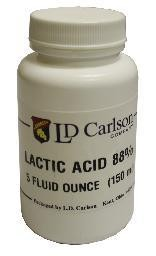 Lactic Acid 88% 5oz