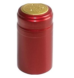 Metallic Ruby Red PVC Shrink 30/Bag