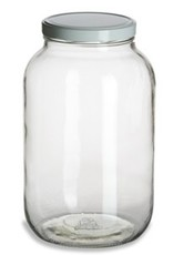One Gallon Wide Mouth Glass Jar