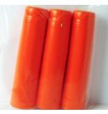Orange PVC Shrink PVC Shrinks 30/Bag