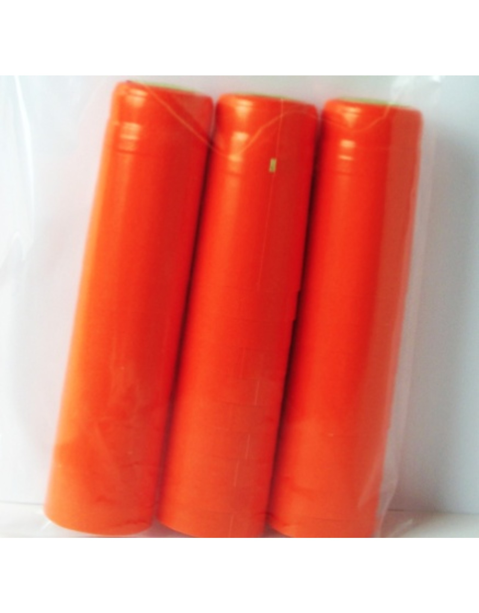 Orange PVC Shrink PVC Shrinks 30/Bag
