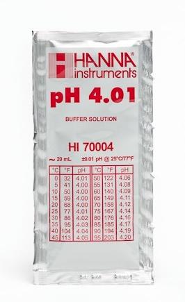 Ph Meter Buffer Solution Ph 4.01 (20mL Pack)