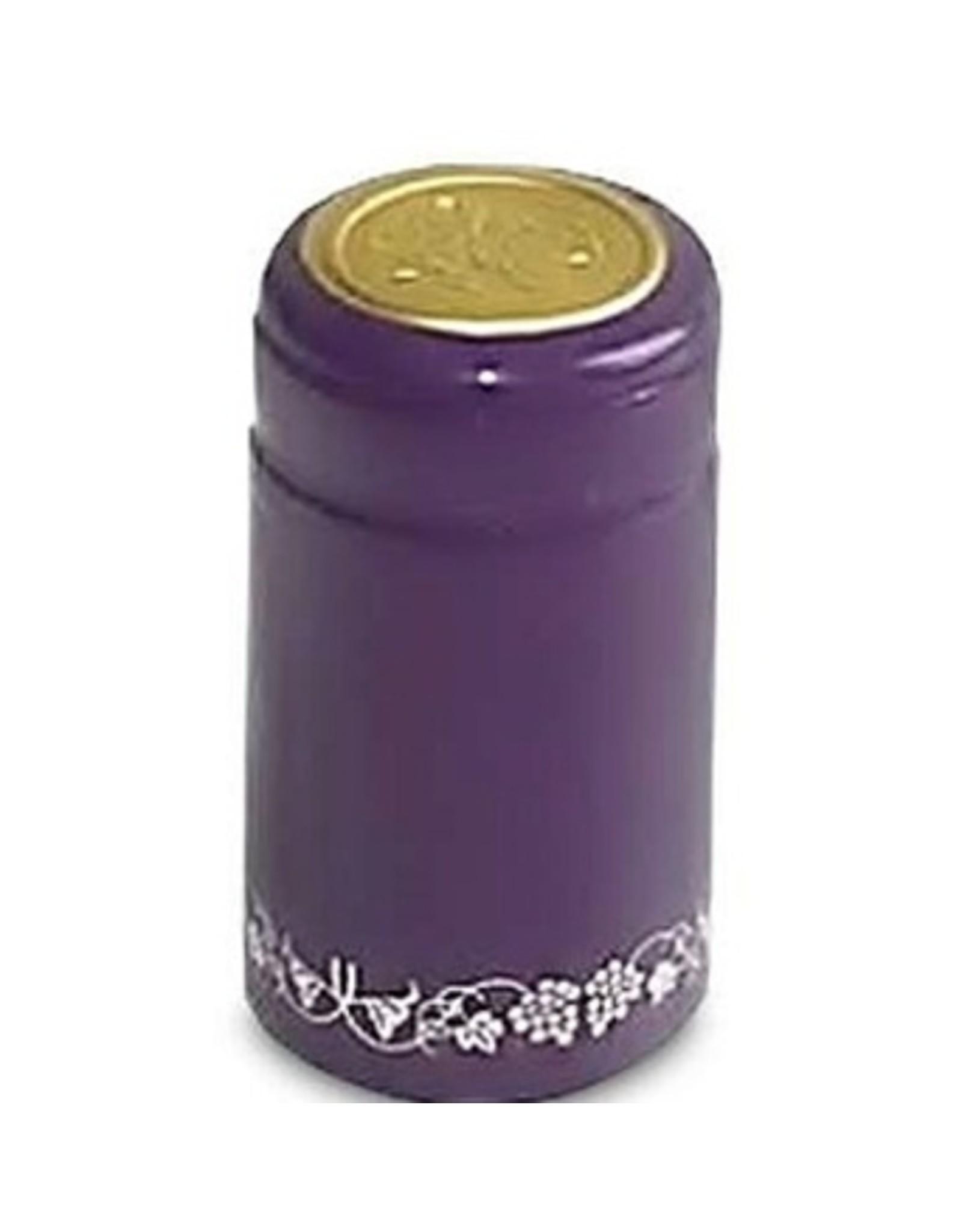 Purple Silver Grapes PVC Shrinks 30/Bag