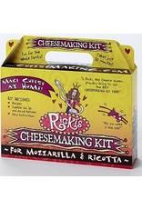 Ricki Mozzarella Ricotta Cheese Kit