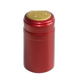 Ruby Red PVC Shrink 500 Pack